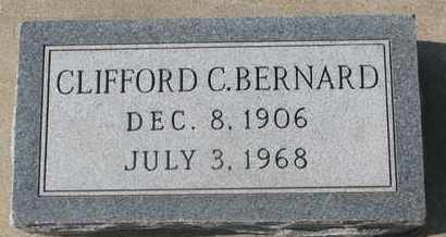 BERNARD, CLIFFORD C. - Union County, South Dakota | CLIFFORD C. BERNARD - South Dakota Gravestone Photos