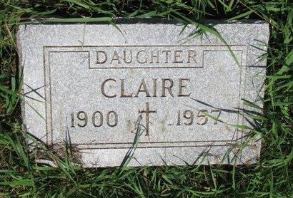 BERNARD, CLAIRE - Union County, South Dakota   CLAIRE BERNARD - South Dakota Gravestone Photos