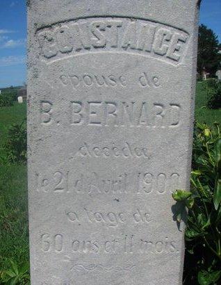 BERNARD, CONSTANCE (CLOSEUP) - Union County, South Dakota   CONSTANCE (CLOSEUP) BERNARD - South Dakota Gravestone Photos