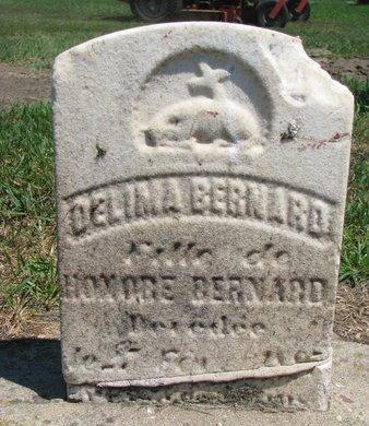 BERNARD, DELIMA - Union County, South Dakota | DELIMA BERNARD - South Dakota Gravestone Photos