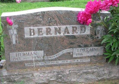 BERNARD, LORRAINE - Union County, South Dakota | LORRAINE BERNARD - South Dakota Gravestone Photos