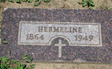 BERNARD, HERMELINE - Union County, South Dakota | HERMELINE BERNARD - South Dakota Gravestone Photos