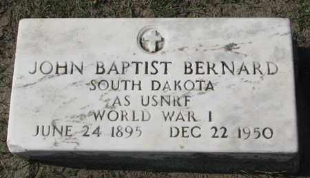 BERNARD, JOHN BAPTIST (WORLD WAR I) - Union County, South Dakota | JOHN BAPTIST (WORLD WAR I) BERNARD - South Dakota Gravestone Photos