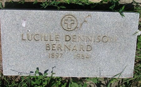 DENNISON BERNARD, LUCILLE - Union County, South Dakota | LUCILLE DENNISON BERNARD - South Dakota Gravestone Photos