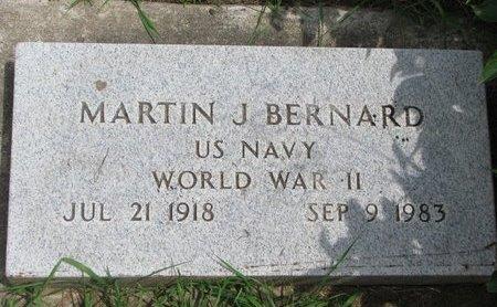 BERNARD, MARTIN J. - Union County, South Dakota | MARTIN J. BERNARD - South Dakota Gravestone Photos