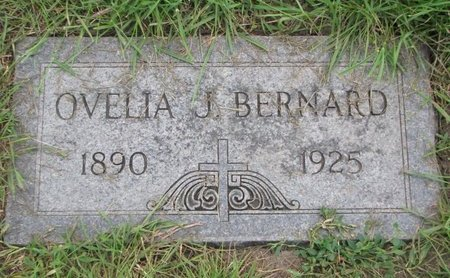 BERNARD, OVELIA J. - Union County, South Dakota | OVELIA J. BERNARD - South Dakota Gravestone Photos