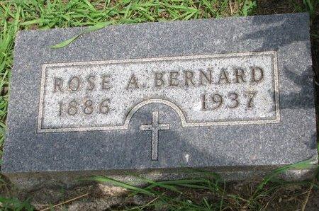 BERNARD, ROSE A. - Union County, South Dakota   ROSE A. BERNARD - South Dakota Gravestone Photos