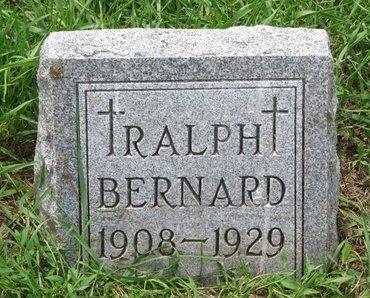 BERNARD, RALPH - Union County, South Dakota | RALPH BERNARD - South Dakota Gravestone Photos