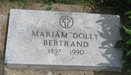 """BERTRAND, MARIAM """"DOLLY"""" - Union County, South Dakota 