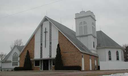 *BIG SPRINGS, BAPTIST CHURCH - Union County, South Dakota   BAPTIST CHURCH *BIG SPRINGS - South Dakota Gravestone Photos