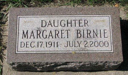 BIRNIE, MARGARET - Union County, South Dakota | MARGARET BIRNIE - South Dakota Gravestone Photos