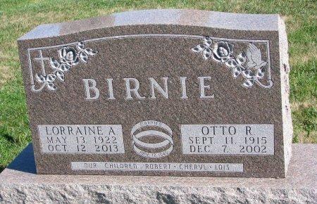 BIRNIE, OTTO RUDOLPH - Union County, South Dakota | OTTO RUDOLPH BIRNIE - South Dakota Gravestone Photos