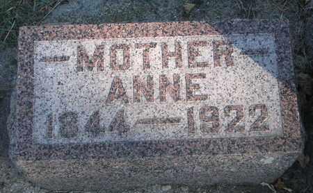 BJORGUM, ANNE - Union County, South Dakota | ANNE BJORGUM - South Dakota Gravestone Photos