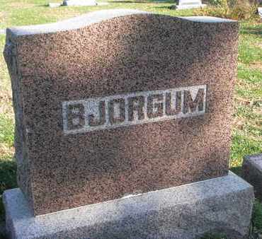 BJORGUM, FAMILY STONE - Union County, South Dakota | FAMILY STONE BJORGUM - South Dakota Gravestone Photos