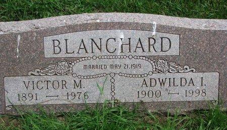 BLANCHARD, VICTOR M. - Union County, South Dakota | VICTOR M. BLANCHARD - South Dakota Gravestone Photos