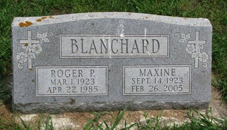 LIMOGES BLANCHARD, MAXINE A. - Union County, South Dakota | MAXINE A. LIMOGES BLANCHARD - South Dakota Gravestone Photos