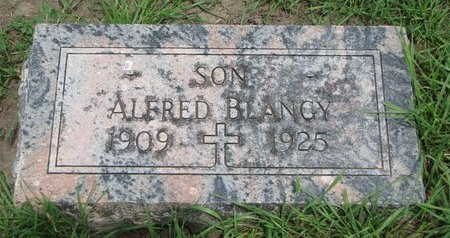 BLANGY, ALFRED - Union County, South Dakota | ALFRED BLANGY - South Dakota Gravestone Photos
