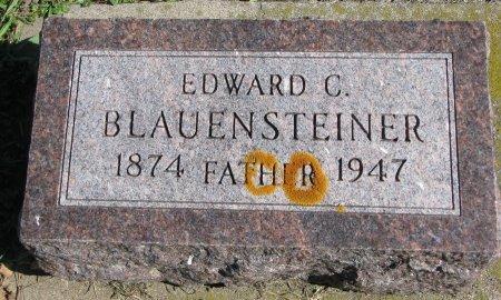 BLAUENSTEINER, EDWARD C. - Union County, South Dakota | EDWARD C. BLAUENSTEINER - South Dakota Gravestone Photos