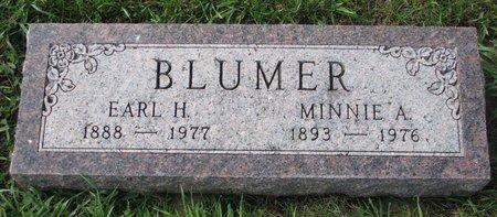BLUMER, EARL A. - Union County, South Dakota | EARL A. BLUMER - South Dakota Gravestone Photos
