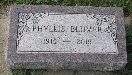 BLUMER, PHYLLIS E. - Union County, South Dakota   PHYLLIS E. BLUMER - South Dakota Gravestone Photos