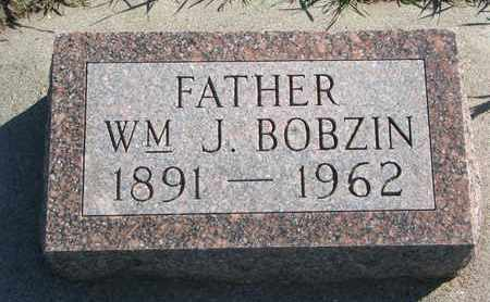 BOBZIN, WILLIAM J. - Union County, South Dakota | WILLIAM J. BOBZIN - South Dakota Gravestone Photos