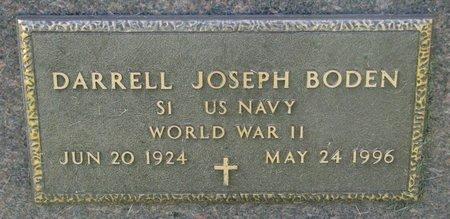 BODEN, DARRELL JOSEPH (WORLD WAR II) - Union County, South Dakota   DARRELL JOSEPH (WORLD WAR II) BODEN - South Dakota Gravestone Photos