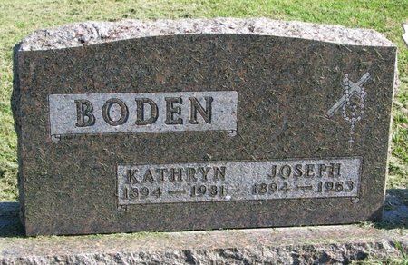 BODEN, KATHRYN - Union County, South Dakota | KATHRYN BODEN - South Dakota Gravestone Photos