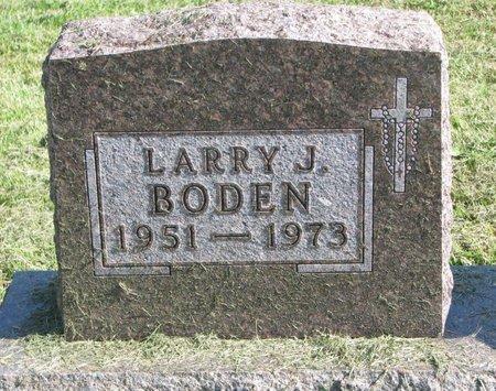 BODEN, LARRY J. - Union County, South Dakota | LARRY J. BODEN - South Dakota Gravestone Photos
