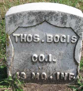 BOGIS, THOMAS - Union County, South Dakota   THOMAS BOGIS - South Dakota Gravestone Photos