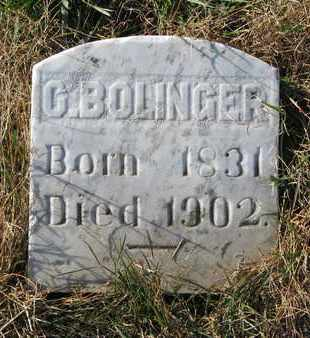 BOLINGER, C. - Union County, South Dakota | C. BOLINGER - South Dakota Gravestone Photos