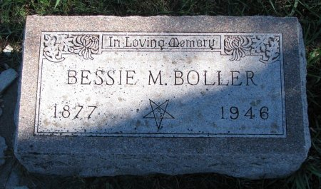 YORKER BOLLER, BESSIE MARIA - Union County, South Dakota   BESSIE MARIA YORKER BOLLER - South Dakota Gravestone Photos