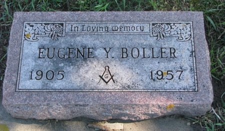 BOLLER, EUGENE Y. - Union County, South Dakota | EUGENE Y. BOLLER - South Dakota Gravestone Photos