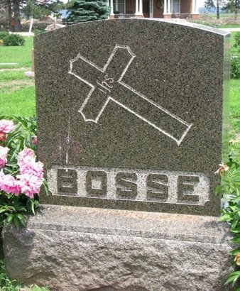 BOSSE, *FAMILY MONUMENT-LOUIS - Union County, South Dakota   *FAMILY MONUMENT-LOUIS BOSSE - South Dakota Gravestone Photos