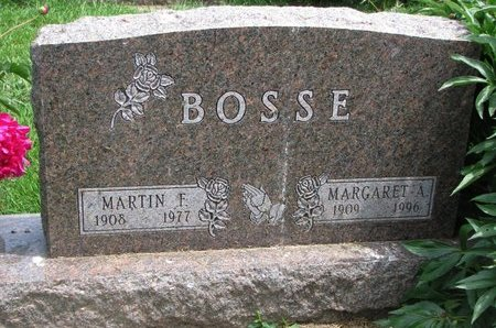 BOSSE, MARGARET A. - Union County, South Dakota | MARGARET A. BOSSE - South Dakota Gravestone Photos
