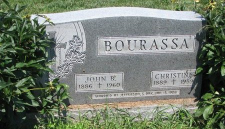 BOURASSA, JOHN B. - Union County, South Dakota   JOHN B. BOURASSA - South Dakota Gravestone Photos