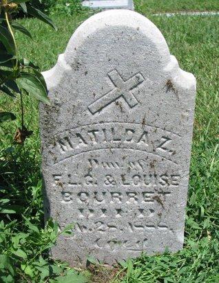 BOURRET, MATILDA Z. - Union County, South Dakota | MATILDA Z. BOURRET - South Dakota Gravestone Photos