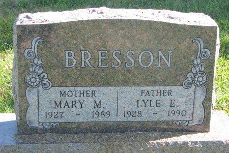 BRESSON, MARY M. - Union County, South Dakota | MARY M. BRESSON - South Dakota Gravestone Photos