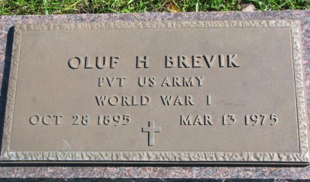 BREVIK, OLUF HELMER - Union County, South Dakota | OLUF HELMER BREVIK - South Dakota Gravestone Photos
