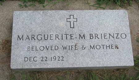 BRIENZO, MARGUERITE M. - Union County, South Dakota | MARGUERITE M. BRIENZO - South Dakota Gravestone Photos
