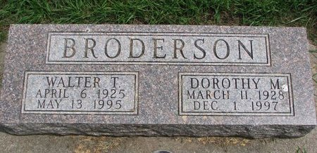 BRODERSON, DOROTHY MAE - Union County, South Dakota | DOROTHY MAE BRODERSON - South Dakota Gravestone Photos