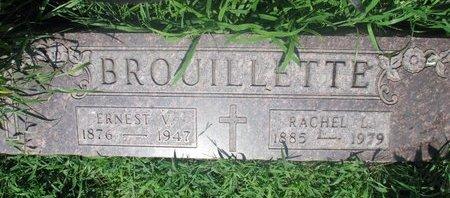 BROUILLETTE, RACHEL L. - Union County, South Dakota   RACHEL L. BROUILLETTE - South Dakota Gravestone Photos