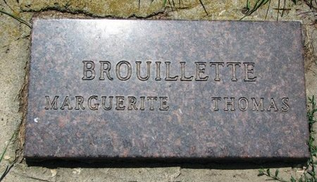 GARDEPIE BROUILLETTE, MARGUERITE - Union County, South Dakota | MARGUERITE GARDEPIE BROUILLETTE - South Dakota Gravestone Photos