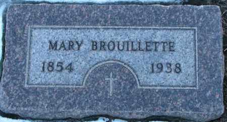 BROUILLETTE, MARY - Union County, South Dakota | MARY BROUILLETTE - South Dakota Gravestone Photos