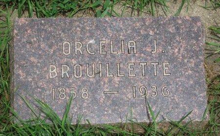 BROUILLETTE, ORCELIA J. - Union County, South Dakota | ORCELIA J. BROUILLETTE - South Dakota Gravestone Photos