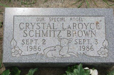 BROWN, CRYSTAL LAROYCE - Union County, South Dakota   CRYSTAL LAROYCE BROWN - South Dakota Gravestone Photos
