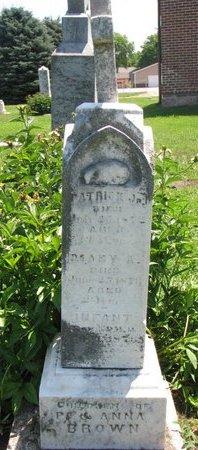 BROWN, INFANT SON - Union County, South Dakota | INFANT SON BROWN - South Dakota Gravestone Photos