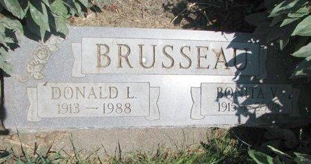 "ALLARD BRUSSEAU, BONITA V. ""BONNIE"" - Union County, South Dakota | BONITA V. ""BONNIE"" ALLARD BRUSSEAU - South Dakota Gravestone Photos"