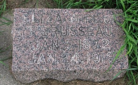 BRUSSEAU, ELIZA - Union County, South Dakota   ELIZA BRUSSEAU - South Dakota Gravestone Photos
