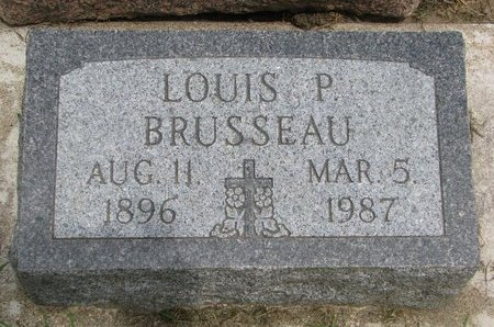 BRUSSEAU, LOUIS P. - Union County, South Dakota | LOUIS P. BRUSSEAU - South Dakota Gravestone Photos