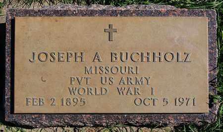 BUCHHOLZ, JOSEPH ALEX (WORLD WAR I) - Union County, South Dakota | JOSEPH ALEX (WORLD WAR I) BUCHHOLZ - South Dakota Gravestone Photos